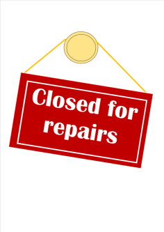 Reporting repair issues to the council